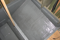 Forward starboard wing tank compartment.