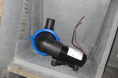 discharge pump for grey water tank