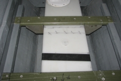Closeup of the supports for the tank. Nevermind the pen markings, hey, its gonna get covered up! Who cares?